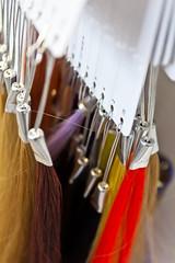 Hair (Carmi_linsensch.eu) Tags: wedding colour hair frisur salon hochzeit preparations handtuch haare vorbereitung braut frisr haarfarbe frben lockenwickler probestecken