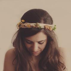 somewhere only we know (Ana Luísa Pinto [Luminous Photography]) Tags: orange brown girl yellow hair nude warm soft skin tan waist crown