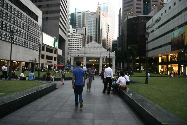 Meet My Brother At Raffles Place