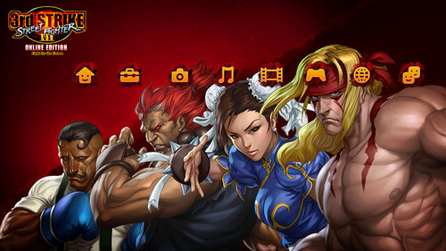 Street Fighter III: Third Strike Online Edition PS3 Theme