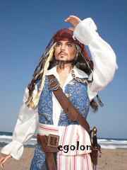 Captain Jack Sparrow (egolon) Tags: pink jack dolls label pirates barbie stranger sparrow captain caribbean tides collector