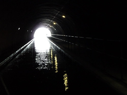 Canal Tunnel at Falkirk Wheel