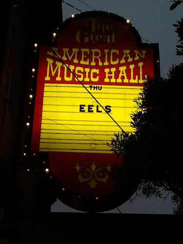 Eels en el The Great American Music Hall