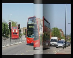 Buses in the North London Suburbs (video) (BristolRE2007) Tags: bus london buses tfl arriva metroline