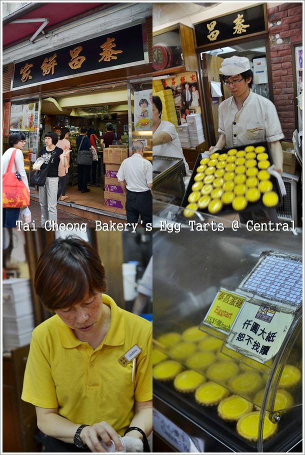Tai Cheong Bakery Egg Tarts