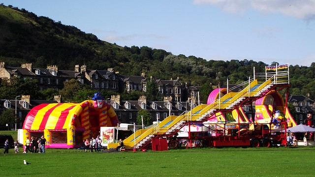 Burnt Island funfair 01