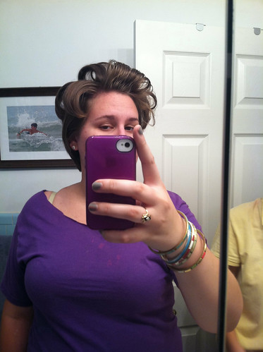 five sixteenths blog: Make it Mondays: The Higher The Hair