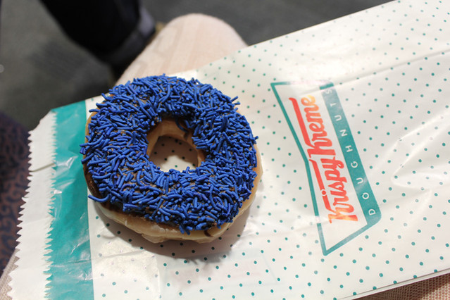 denim doughnut