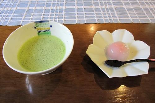 抹茶と水菓子@花ふうろ by Poran111