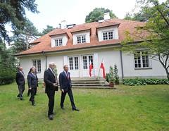 Premier w Muzeum Józefa Piłsudskiego
