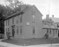 Hancock-Clark House, Lexington (Boston Public Library) Tags: lexington massachusetts lesliejones