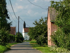 (elinor04) Tags: street old church architecture hungary village age middle ages transdanubia drske arpadian