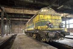 SNCB 5123 (J4M35_UK) Tags: travel urban abandoned industry train europe industrial european belgium euro decay exploring railway roadtrip funky forgotten disused locomotive exploration derelict trainz raging winkelwagen fordfiesta eurostyle funkenzeit powargh