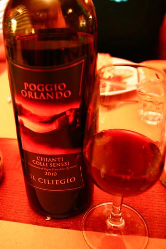 Wine at Azienda Agricola Il Ciliegio in Tuscany