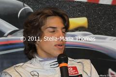 ROBERTO MERHI 106 (smtfhw) Tags: netherlands motorracing motorsport racingcars 2011 zandvoortaanzee formula3 racingdrivers circuitparkzandvoort mastersofformula3