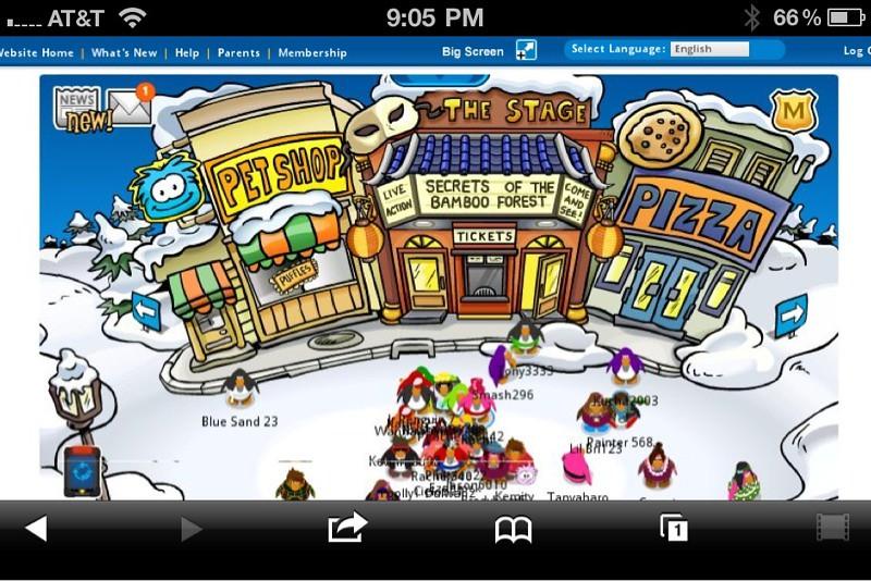 online flash games like club penguin