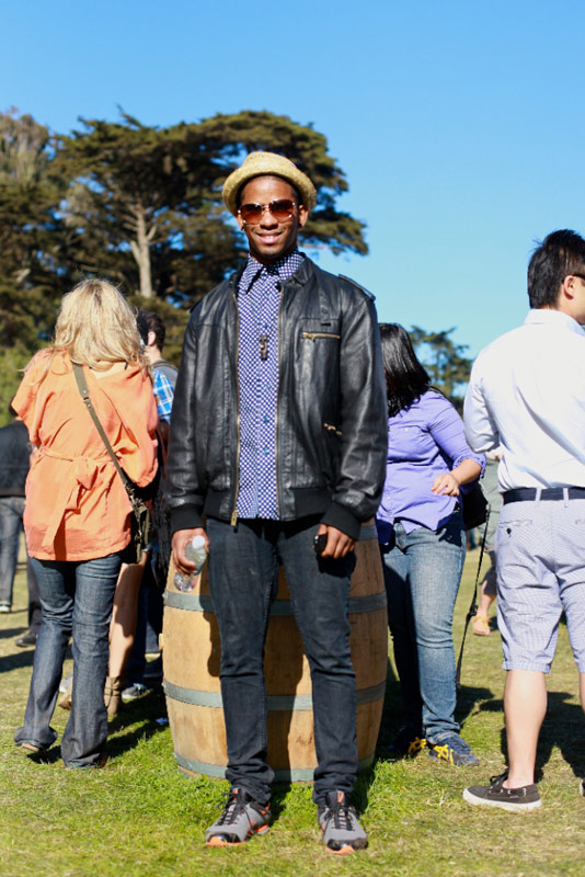 trilbyol - san francisco street fashion style outside lands