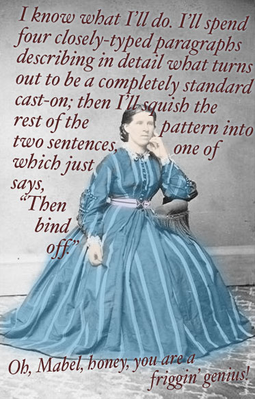 The 19th Century Knitting Pattern Designer