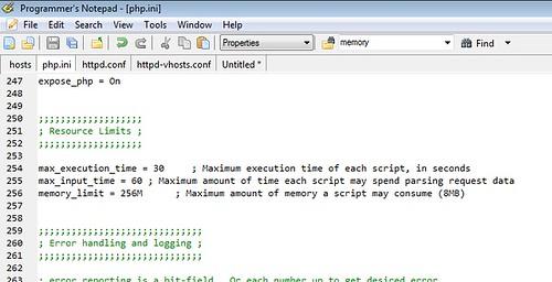 coding trip: แก้ไข เออเร่อ Fatal error: Allowed memory size ...