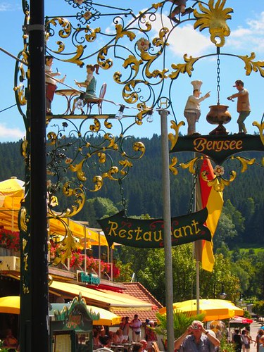 titisee sign by Danalynn C