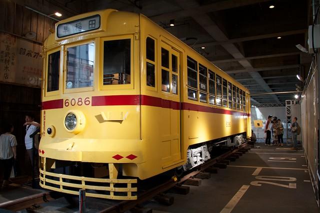 東京都電 6086号