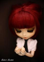 Scarlett's skirt (pure_embers) Tags: uk scarlett dark dolls gothic skirt queen pullip tied lunatic punishment embers lunaticqueen