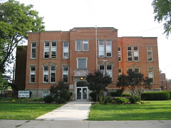 082011 Rising Sun School--Rising Sun, Ohio (3) (oldohioschools) Tags: school ohio sun public rising central elementary lakota 082011