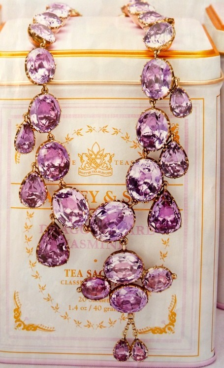 purple gemstone necklace, purple and gold, 48076396_Qh468MvG_c