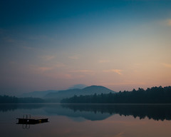Lake Placid -169-20110819IMG_9031.jpg (PeterC_62) Tags: summer lake water sunrise adirondacks upstateny lakeplacid