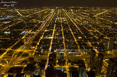 The City of Chicago (Mohammad Rehawi | Evil Hard) Tags: chicago cityscape nightshoot highshutterspeed canon550d