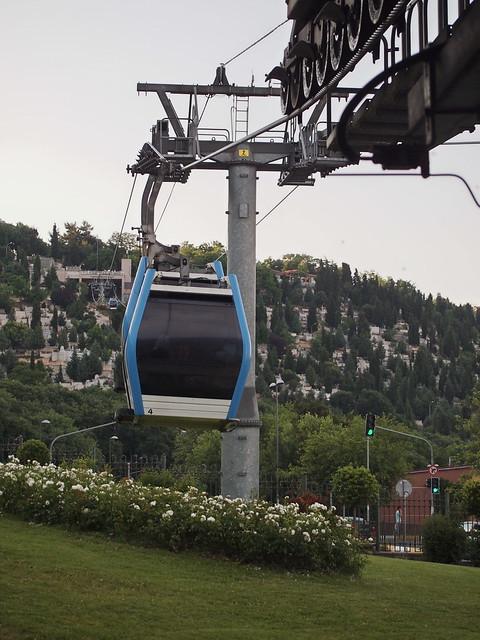 欲上Eyup Merkez可搭乘小纜車