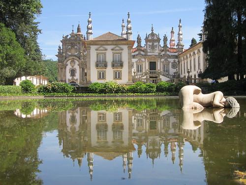 Il Palácio de Mateus, nei pressi di Vila Real