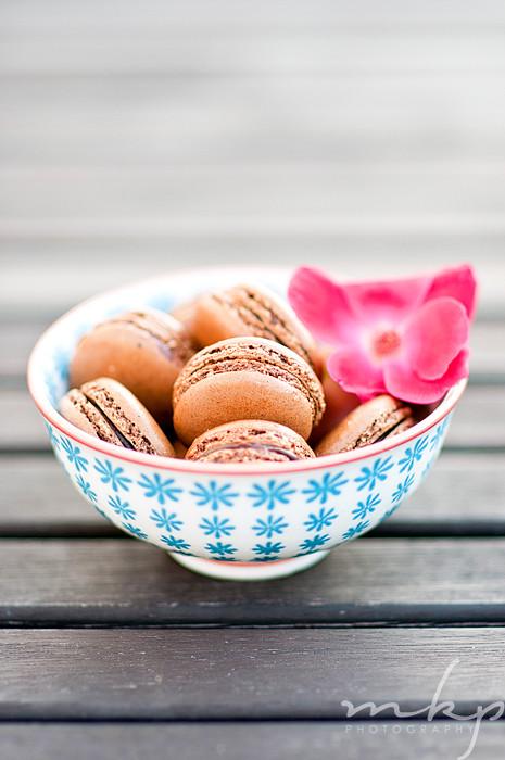 Chocolate Macarons-5