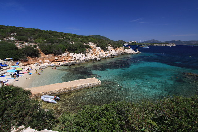 Beach on Capo Caccia - just one of hundreds of world class beaches on Sardinia...