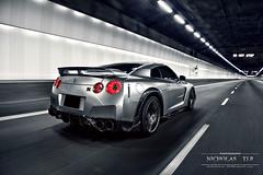 Nissan GT-R WALD Black Bison (Nicholas TJ.R) Tags: black canon singapore nissan tunnel mk2 5d bison wald gtr