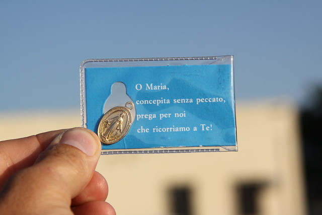 The gift from the nun in Iglesias
