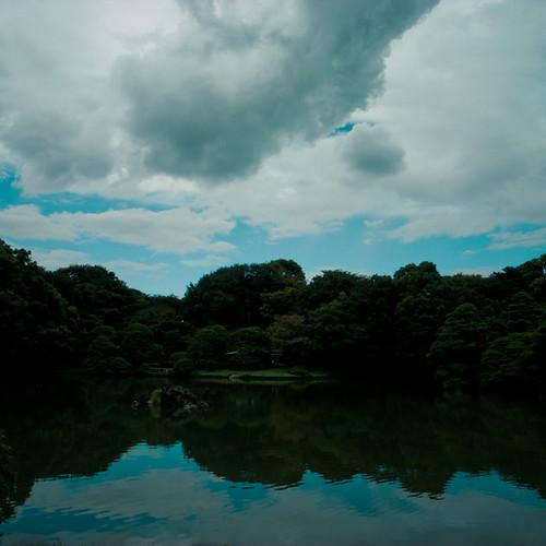 Sky Land Pond, Rikugien Garden Tokyo