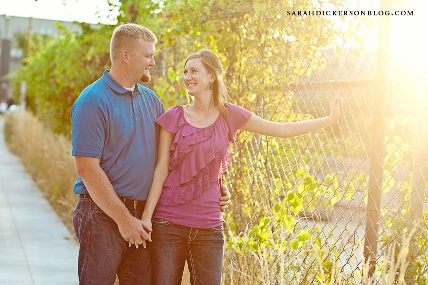 Kansas City River Market engagement photographers