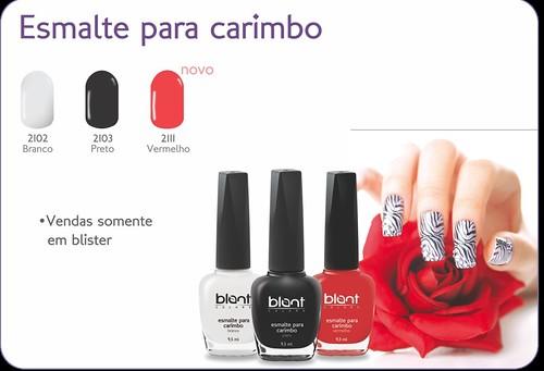 Blant Colors - Esmaltes para Carimbo
