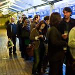 Grant Morrison signing queue