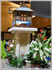The Minangkabau-designed Tabernacle at Church of St Anne