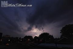 LIGHTNING! (Nick Wons Photography) Tags: summer toronto storm rain weather night clouds extreme lightning tornadowatch