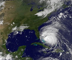 Hurricane Irene Captured August 25, 2011