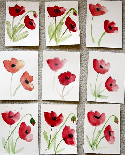 Practicing Poppies