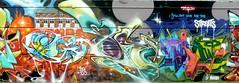 BG183, Bonzai, Bio (Voodoodi London) Tags: street streetart london art graffiti bio fans goldie ghetto cru bonzai nicer tats stockwell bg183 bims farceur solo1