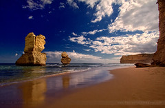 The Great Apostles ~ Port Campbell National Park (The Eternity Photography) Tags: ocean winter sky cliff cloud sun colour tourism beach nature water sunshine clouds reflections spectacular landscape fire coast nationalpark waves arch decay au wide australia wideangle victoria erosion fallen limestone handheld coastline colourful greatoceanroad twelveapostles 1022mm 12apostles apostles santanu weathering apostle gor 2011 superwide miocene portcampbellnationalpark thetwelveapostles parksvictoria 60d banik canon60d harshweather canonefs1022mmf3545usmlens santanubanik limestonestacks thegreatapostles canoneos60d santanubanik        wwwfrozenforeternitycom wwwmomentsofnaturecom theeternityphotography