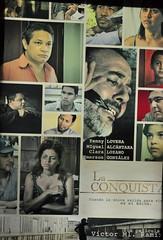 La conquista, poster