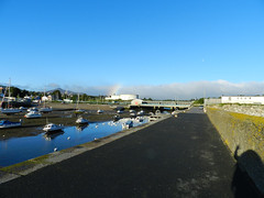 Sunny Tuesday morning in Bray harbour