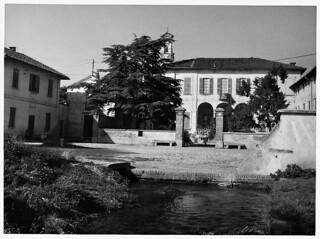 Foto della Cascina Cantalupo del 1950
