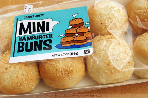 Trader Joe's Mini Hamburger Buns